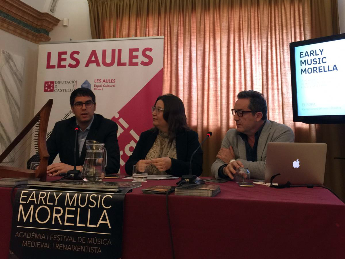 Presenten l'Early Music Morella a Castelló