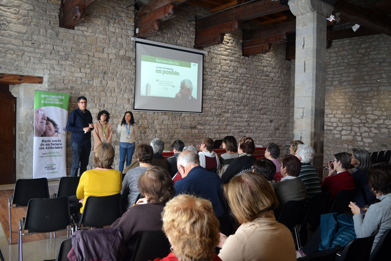 La Fundació Pasqual Maragall parla sobre l'Alzheimer a Morella