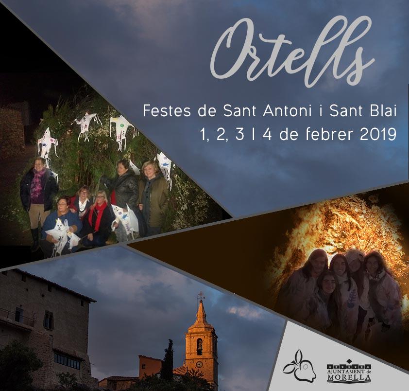 Ortells celebra Sant Antoni i Sant Blai de l'1 al 4 de febrer
