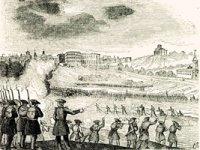 Gravat de les tropes de Cabrera assetjant Madrid, setembre de 1837