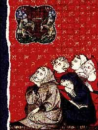 Gravat medieval amb representació i motius càtars