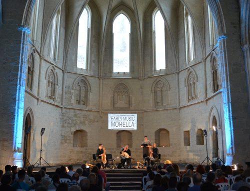 Els concerts de l'Early Music Morella tornaran la ciutat a l'època medieval