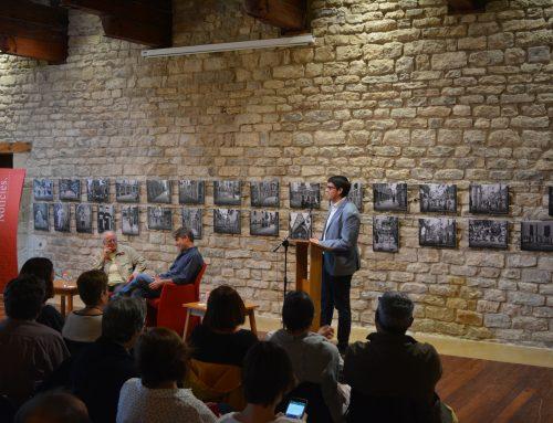 Javier del Pino conversa amb Josep Martí Gómez en un nou Cita a Morella