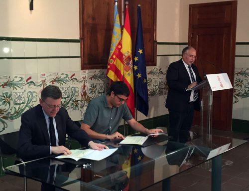 La Generalitat i l'ajuntament signen les ajudes per a la rehabilitació de la Torre Redona de Morella