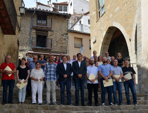 Suport de la Generalitat Valenciana al 54 Sexenni de Morella