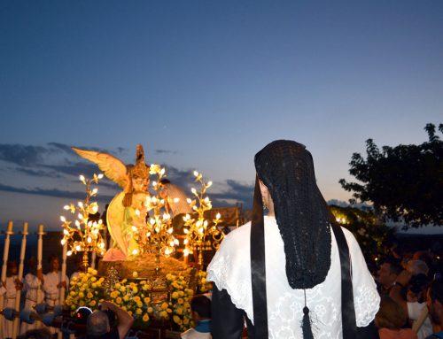 Morella recibe a la Virgen de Vallivana para empezar el 54 Sexenni