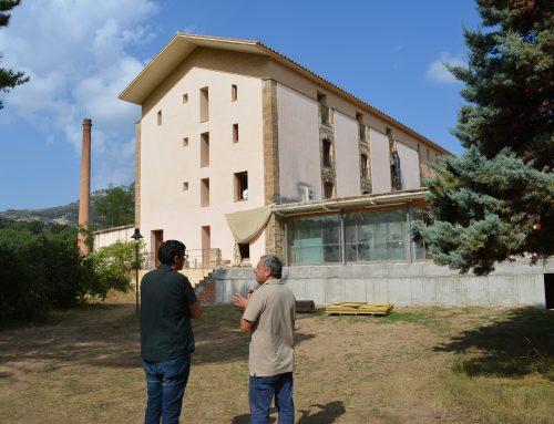 Les obres del Centre de Desenvolupament i Acceleració Turística Fàbrica Giner-Els Ports avancen a bon ritme