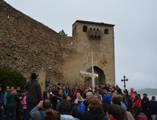 Morella despide la Virgen de Vallivana hasta el 55 Sexenni