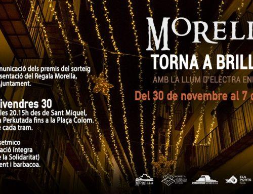 Morella encendrà la il•luminació de Nadal amb una gran festa