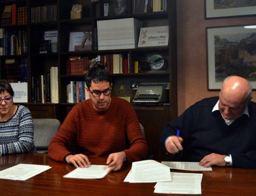 L'ajuntament de Morella i la Creu Roja signen tres acords de col•laboració
