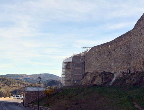 Avencen les obres de la Torre Redona a Morella
