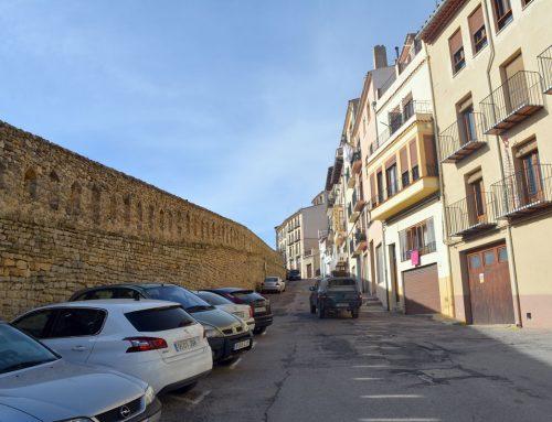 Morella rep l'obra de la Torre del Racó i adjudica la del carrer La Muralla