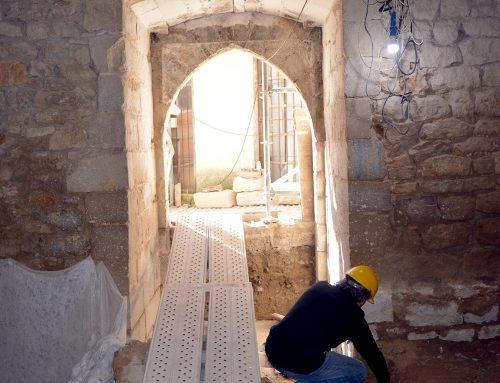 La Torre Redona arriba a l'última fase de la rehabilitació