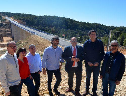 Dia històric per a les comunicacions entre Morella i Aragó