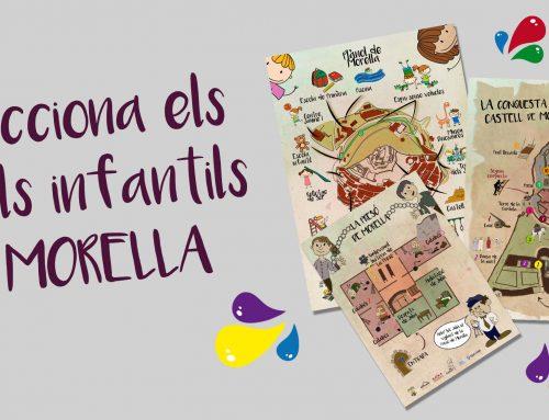 Morella estrena material turístico infantil