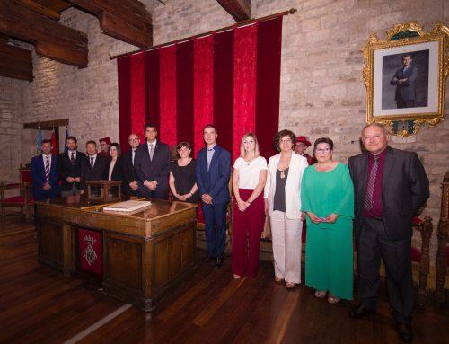 Rhamsés Ripollés pren possessió com a Alcalde de Morella