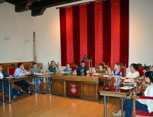 Morella celebra el ple d'organització de l'ajuntament
