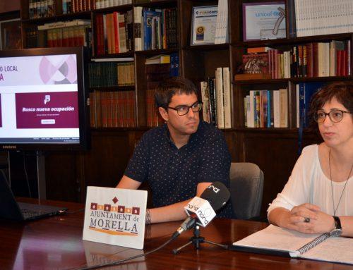 Morella estrena una nova plataforma d'ocupació