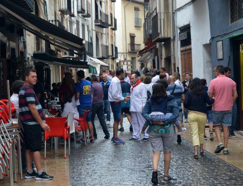 Las Fiestas de Agosto de Morella viven el día de las quintas