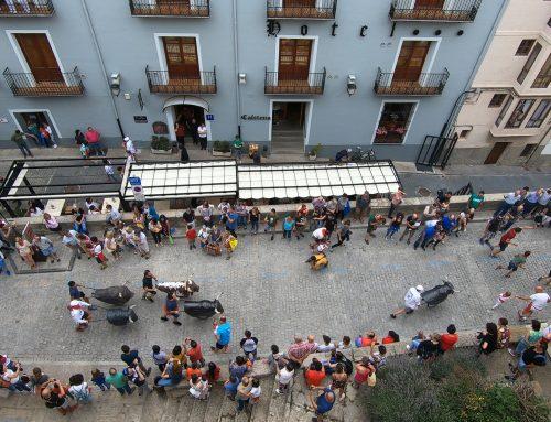 Morella vive el día de la Penya El Bou dentro de las Fiestas de Agosto