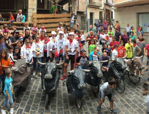 Las calles de Morella vuelven a la normalidad después de los Bous de Sant Roc