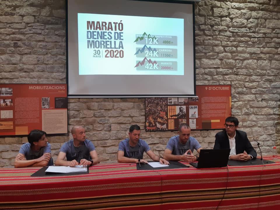 Presentació de la Marató Denes de Morella