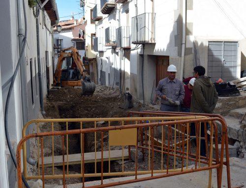 Comença la segona fase de millora del carrer Alt de Sant Francesc de Morella