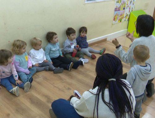 Comencen les classes d'anglés a l'Escola Infantil de Morella
