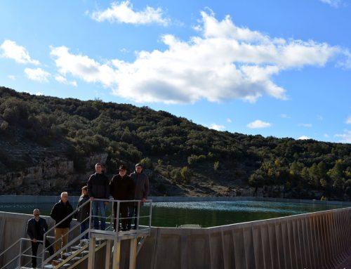 El depósito de la Torre Segura de Morella se pone en funcionamiento