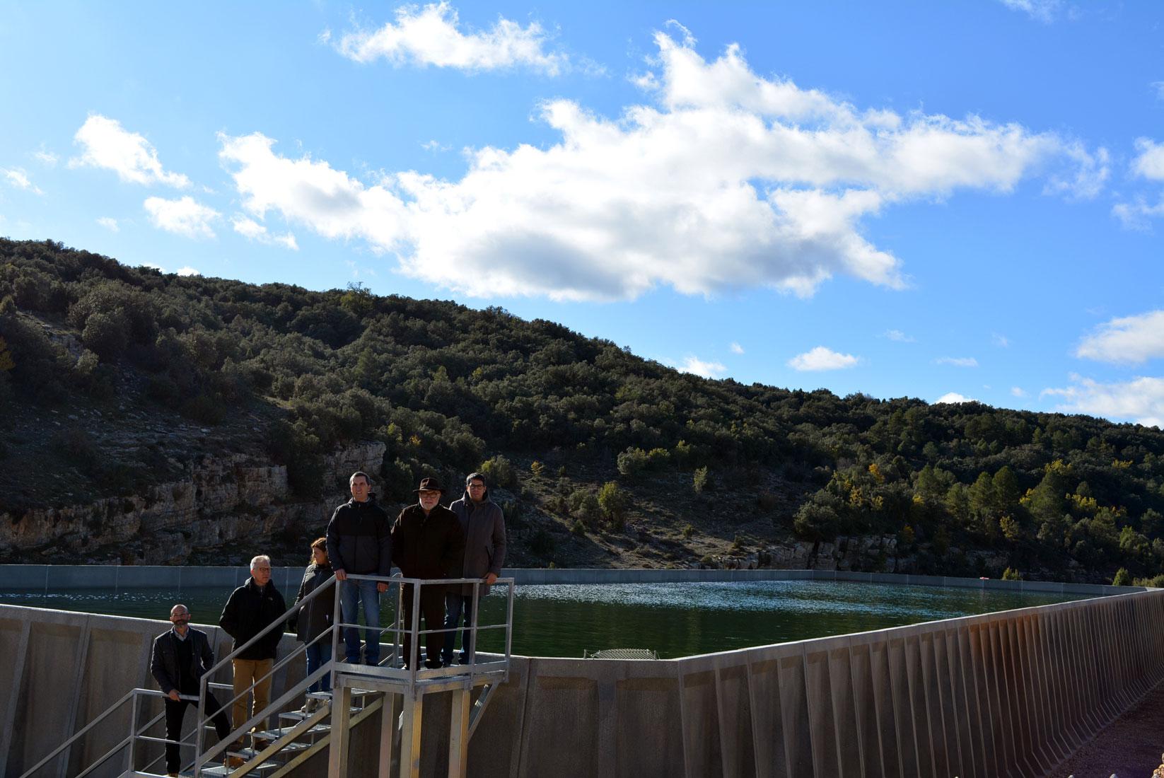 Depòsit d'abastiment d'aigua de la Torre Segura a Morella