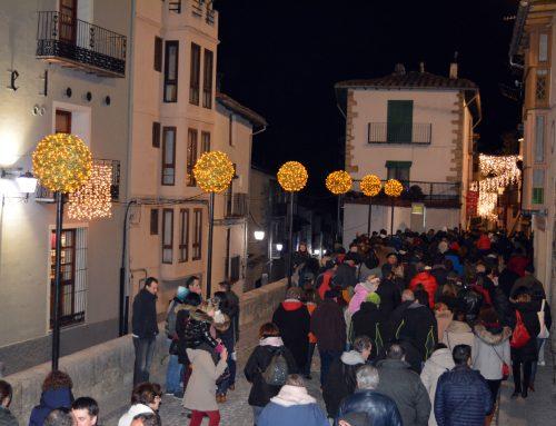 Morella enciende las luces de Navidad esta noche con una gran fiesta