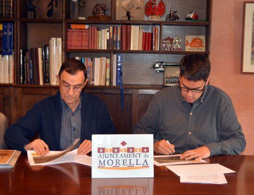 L'ajuntament de Morella i l'Administració de Vallivana signen el conveni de col•laboració