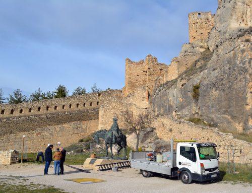 El Ministerio de Cultura y Deporte inicia hoy obras de emergencia en el castillo de Morella (Castellón)