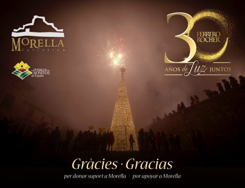 Morella agradece todo el apoyo recibido en la campaña de Navidad de Ferrero Rocher