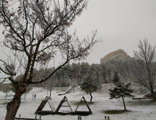 Las primeras precipitaciones de nieve llegan a Morella