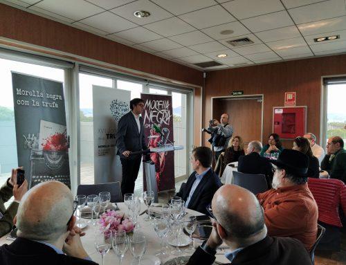 Morella presenta las XVII Jornadss de la Trufa al Centro de Turismo de Castellón