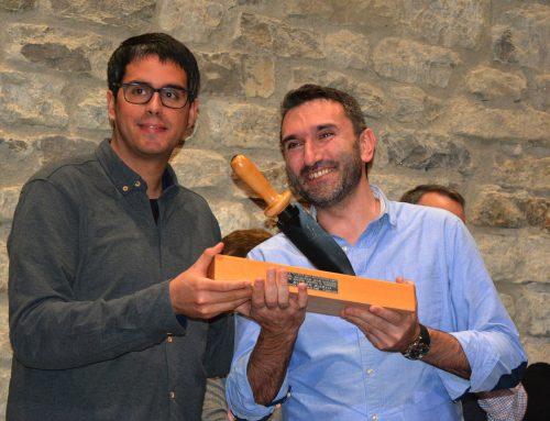 Roger Rubio guanya el IV Tuber Melanosporum amb la novel•la El hombre que no le haría daño a nadie