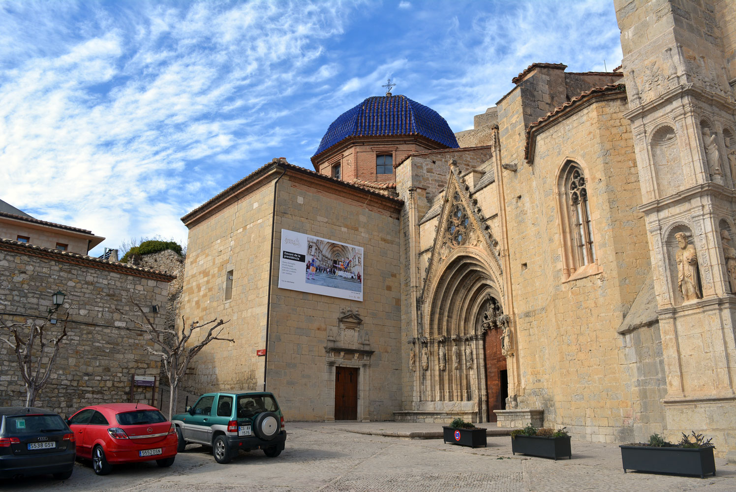 Fotografia de l'exposició Ànima sexennal a la Basílica Arxiprestal de Morella