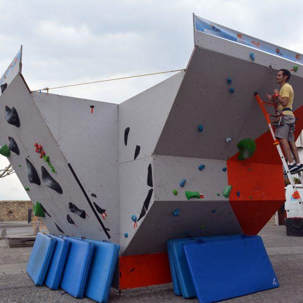 1r Open de Boulder Urbà a Morella