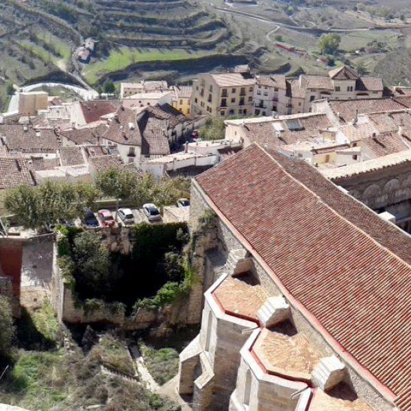 Ubicació del futur Parador de Turisme de Morella