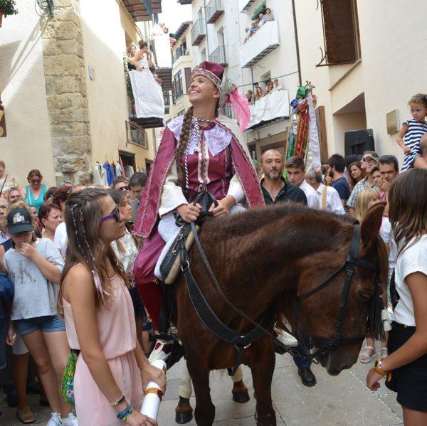 Ariadna Ripollés, pregonera de l'Anunci de Morella