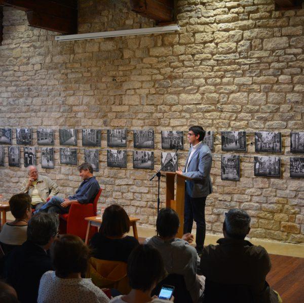 Cita a Morella Javier del Pino