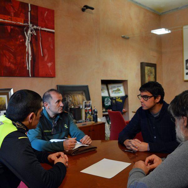 Reunió de seguretat contra robatoris a Morella