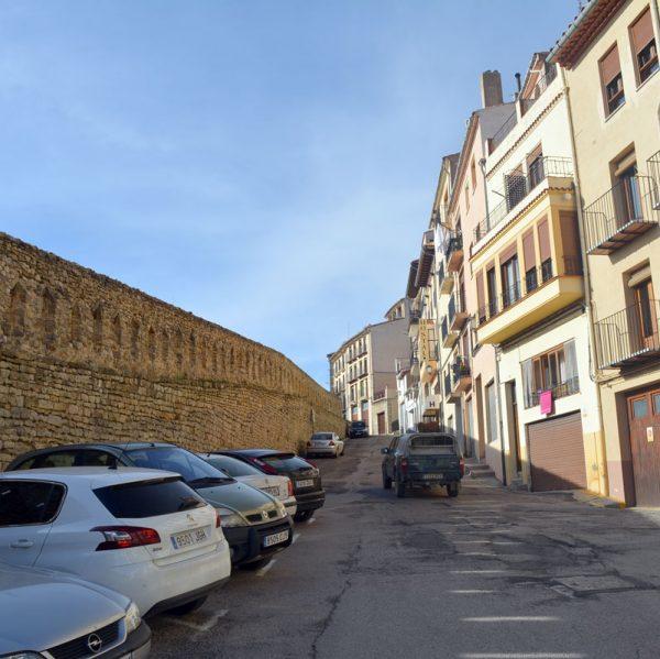 Carrer La Muralla de Morella