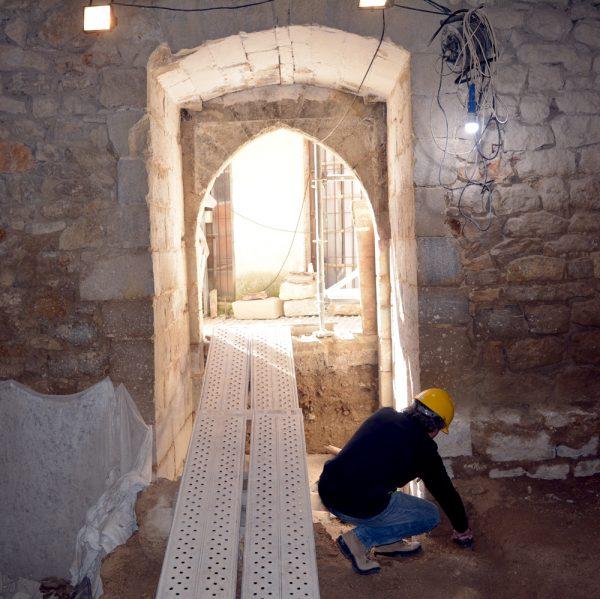 Interior de la Torre Redona