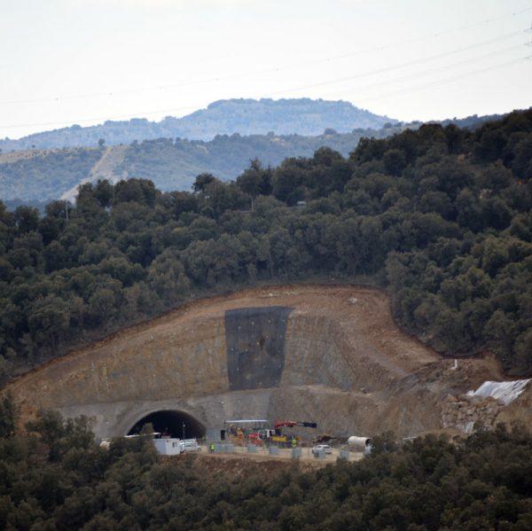 Avança la perforació del túnel del Port de Querol de l'N-232