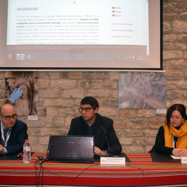Presentació del congrés internacional Traductio et traditio medievales: ciència, coneixement i ideologia