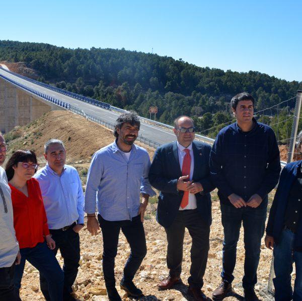 Avui s'ha obert el pas al trànsit de l'N-232 del tram des del límit del terme de Morella fins a Ràfels