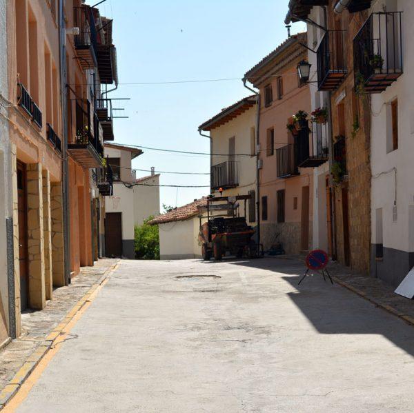 Carrer Alt de Sant Francesc a Morella