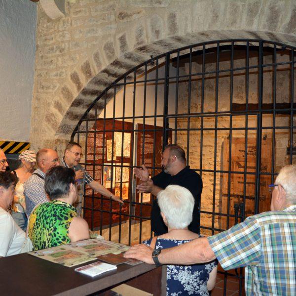 Visita a la Presó del segle XIV de Morella
